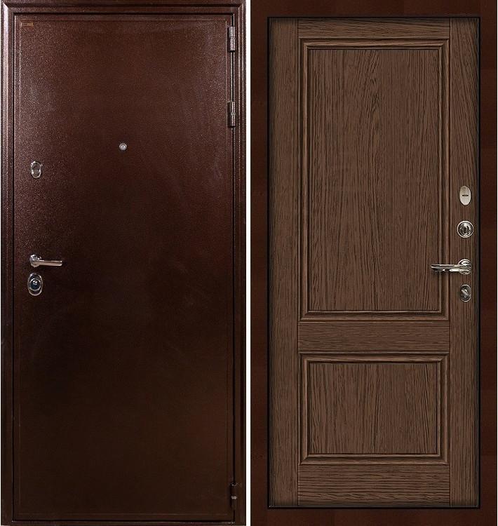 Входная дверь Цезарь 5А / Энигма Орех (панель №57)