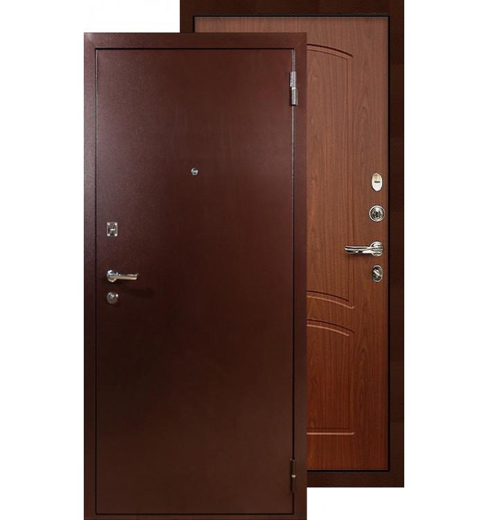 Входная дверь Лекс Эквит медь (Береза мореная)