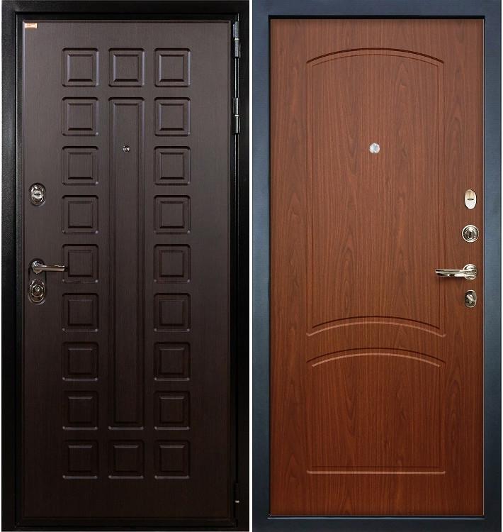 Входная дверь Гладиатор / Береза мореная (панель №11)