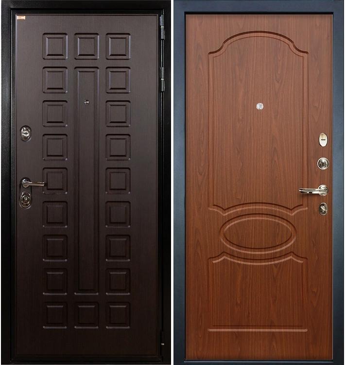 Входная дверь Гладиатор / Береза мореная (панель №12)