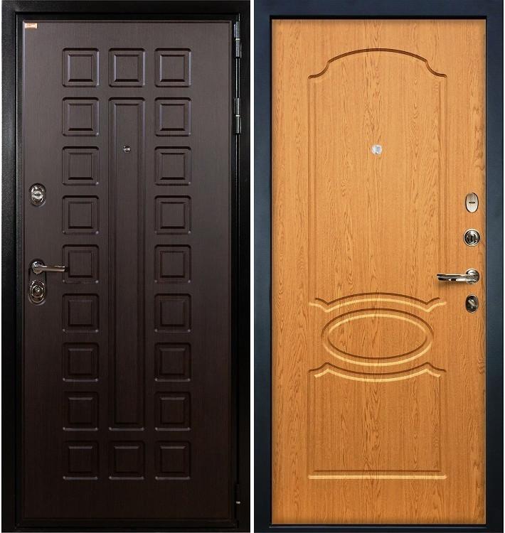 Входная дверь Гладиатор / Дуб натуральный (панель №15)