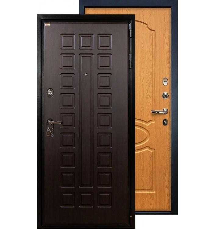 Входная дверь Лекс Гладиатор ФЛ-15 (Дуб натуральный)