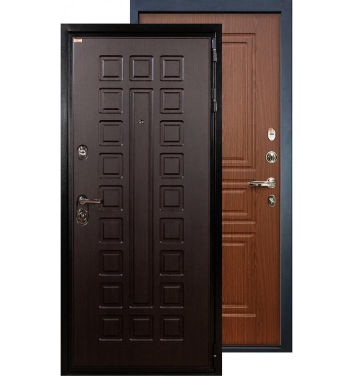 Входная дверь Лекс Гладиатор ФЛ-19 (Береза мореная)