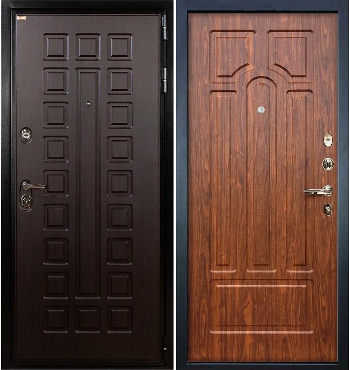 Входная дверь Гладиатор / Береза мореная (панель №26)