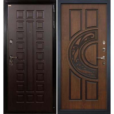 Входная дверь Лекс Гладиатор / Голден патина (панель №27)