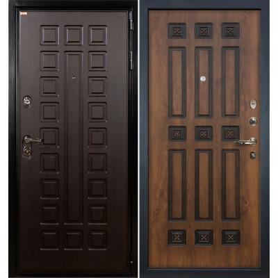Входная дверь Лекс Гладиатор / Голден патина (панель №33)