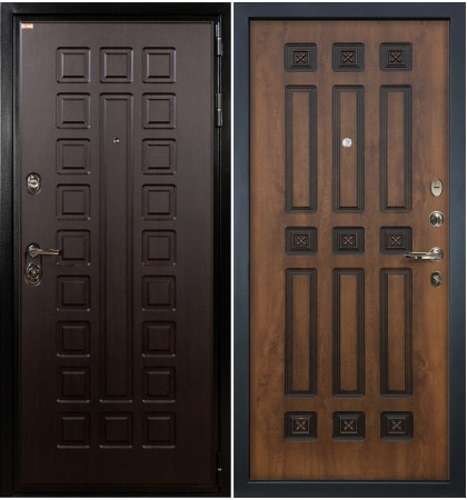 Входная дверь Гладиатор / Голден патина (панель №33)
