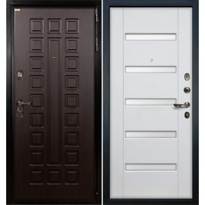 Входная дверь Лекс Гладиатор / Белый ясень (панель №34)