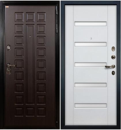 Входная дверь Гладиатор / Белый ясень (панель №34)