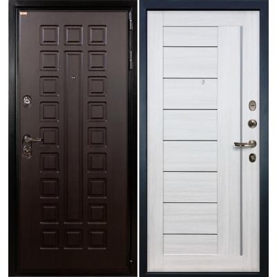 Входная дверь Лекс Гладиатор / Верджиния Беленый дуб (панель №38)