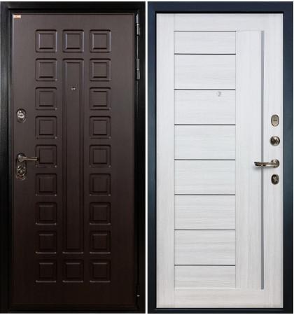 Входная дверь Гладиатор / Верджиния Беленый дуб (панель №38)