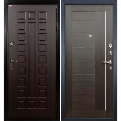 Входная дверь Лекс Гладиатор / Верджиния Венге (панель №39)