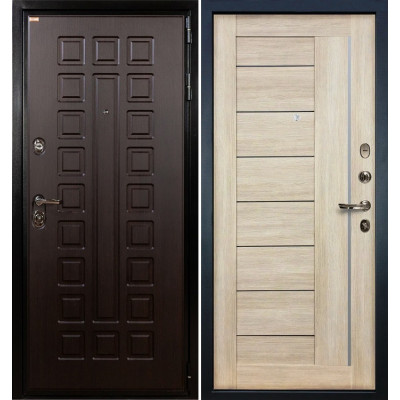 Входная дверь Лекс Гладиатор / Верджиния Кремовый ясень (панель №40)