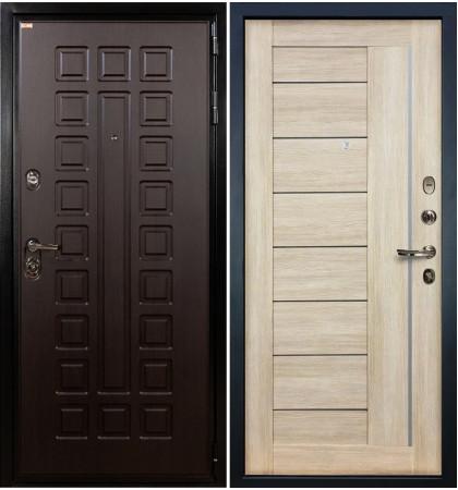 Входная дверь Гладиатор / Верджиния Кремовый ясень (панель №40)