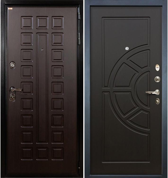 Входная дверь Гладиатор / Венге (панель №43)