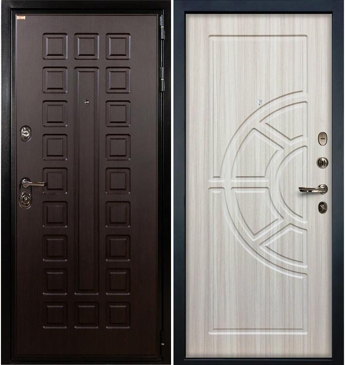Входная дверь Гладиатор / Сандал белый (панель №44)