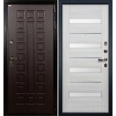 Входная дверь Лекс Гладиатор / Сицилио Беленый дуб (панель №46)