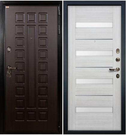 Входная дверь Гладиатор / Сицилио Беленый дуб (панель №46)
