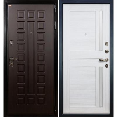 Входная дверь Лекс Гладиатор / Баджио Беленый дуб (панель №47)
