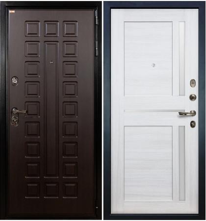 Входная дверь Гладиатор / Баджио Беленый дуб (панель №47)