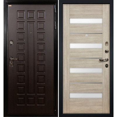 Входная дверь Лекс Гладиатор / Сицилио Ясень кремовый (панель №48)