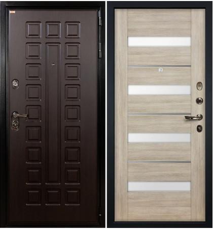 Входная дверь Гладиатор / Сицилио Ясень кремовый (панель №48)