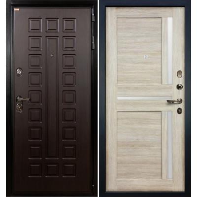 Входная дверь Лекс Гладиатор / Баджио Кремовый ясень (панель №49)