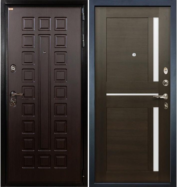 Входная дверь Гладиатор / Баджио Венге (панель №50)