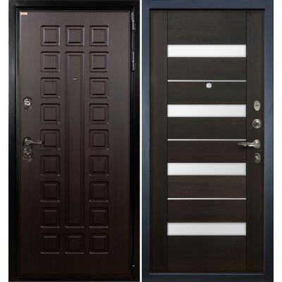 Входная дверь Лекс Гладиатор / Сицилио Венге (панель №51)