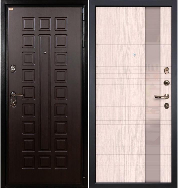 Входная дверь Гладиатор / Новита Беленый дуб (панель №52)