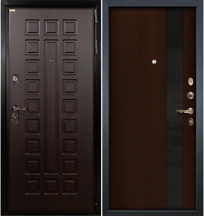 Входная дверь Гладиатор / Новита Венге (панель №53)