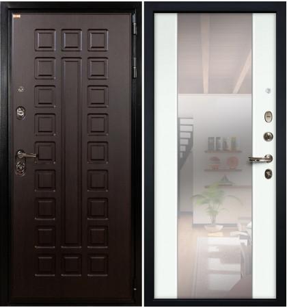 Входная дверь Гладиатор / Стиль Белый экошпон (панель №61)