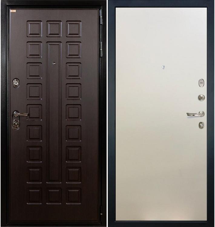 Входная дверь Гладиатор / Белый ясень (панель №62)