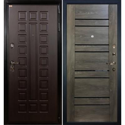 Входная дверь Лекс Гладиатор / Терра Графит шале (панель №64)