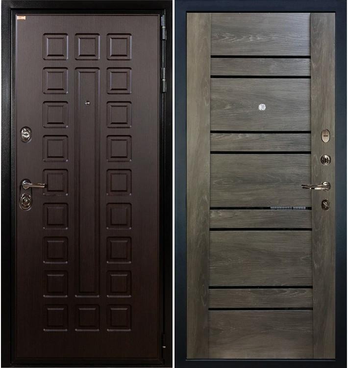Входная дверь Гладиатор / Терра Графит шале (панель №64)