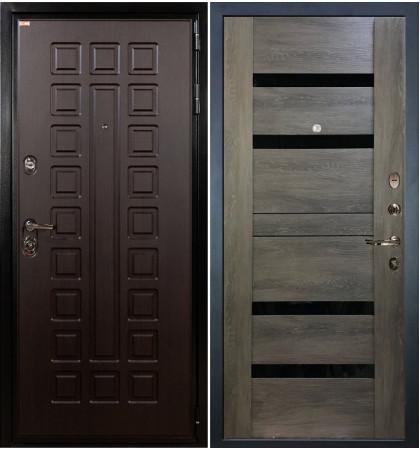 Входная дверь Гладиатор / Неро Графит шале (панель №65)