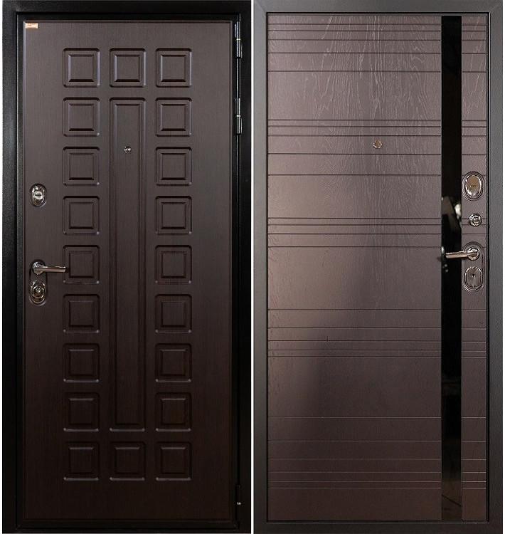 Входная дверь Гладиатор / Ясень шоколадный (панель №31)