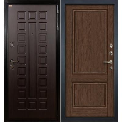 Входная дверь Лекс Гладиатор / Энигма Орех (панель №57)