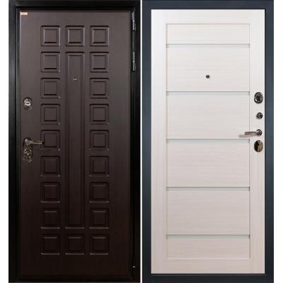 Входная дверь Лекс Гладиатор / Клеопатра Беленый дуб (панель №58)