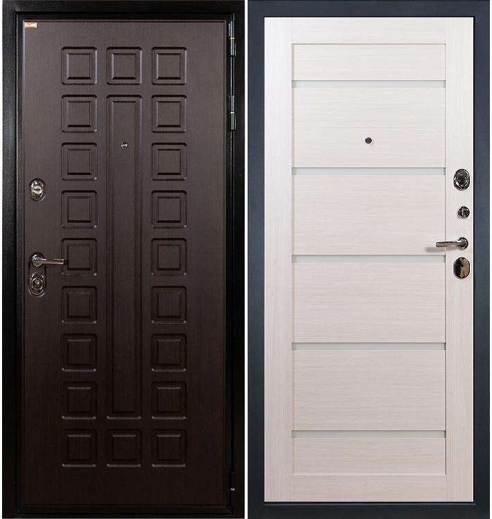 Входная дверь Гладиатор / Клеопатра Беленый дуб (панель №58)