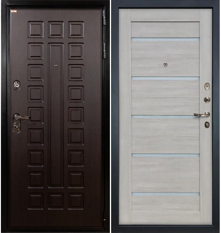 Входная дверь Гладиатор / Клеопатра Ясень кремовый (панель №66)