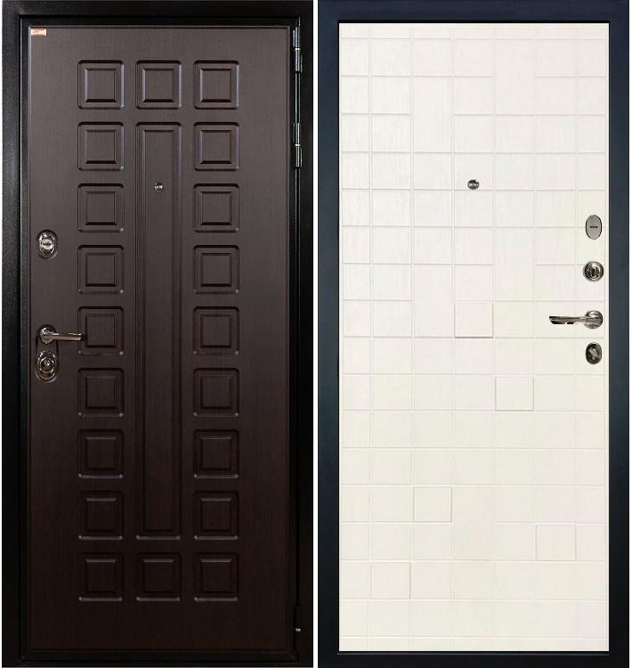 Входная дверь Гладиатор / Белый ясень (панель №56)