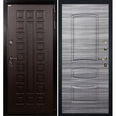Входная дверь Лекс Гладиатор / Сандал серый (панель №69)