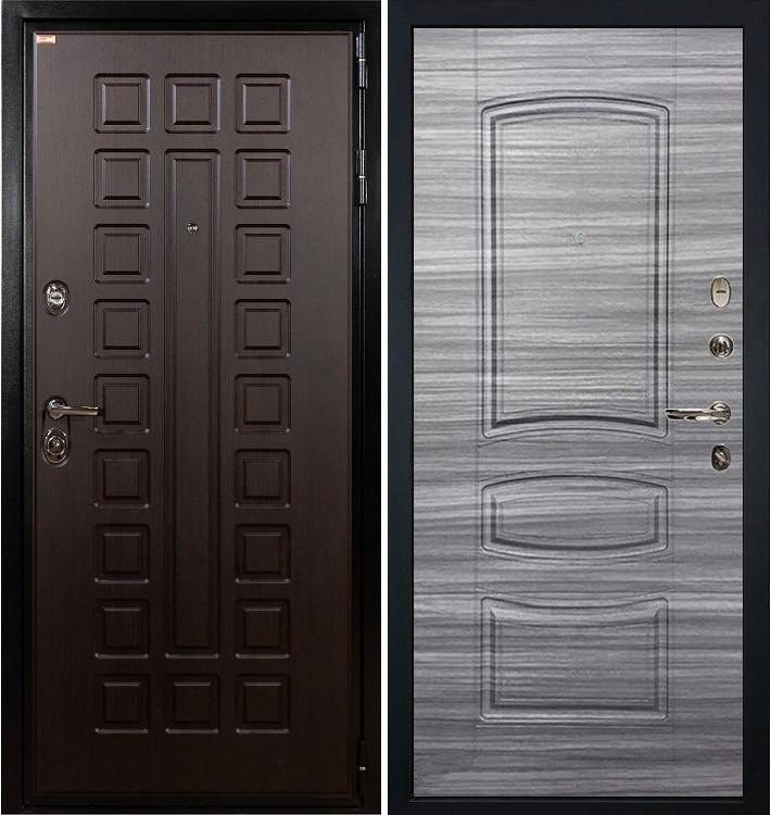 Входная дверь Гладиатор / Сандал серый (панель №69)