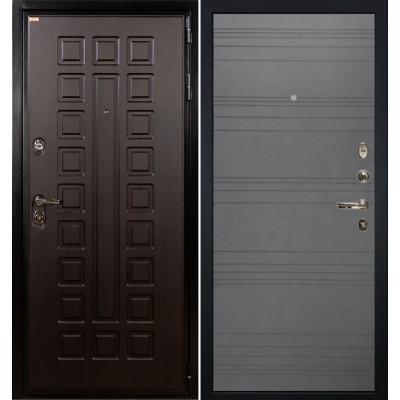 Входная дверь Лекс Гладиатор / Графит софт (панель №70)