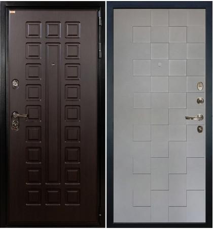 Входная дверь Гладиатор / Квадро Графит софт (панель №72)