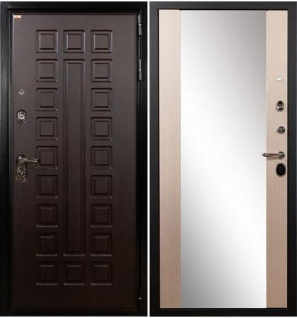 Входная дверь Гладиатор / Стиль Беленый дуб (панель №45)
