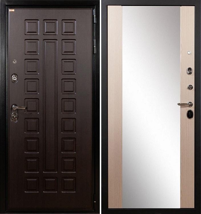 Входная дверь Лекс Гладиатор / Стиль Беленый дуб (панель №45)