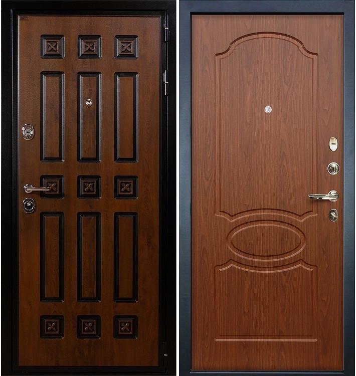 Входная дверь Гладиатор Винорит / Береза мореная (панель №12)