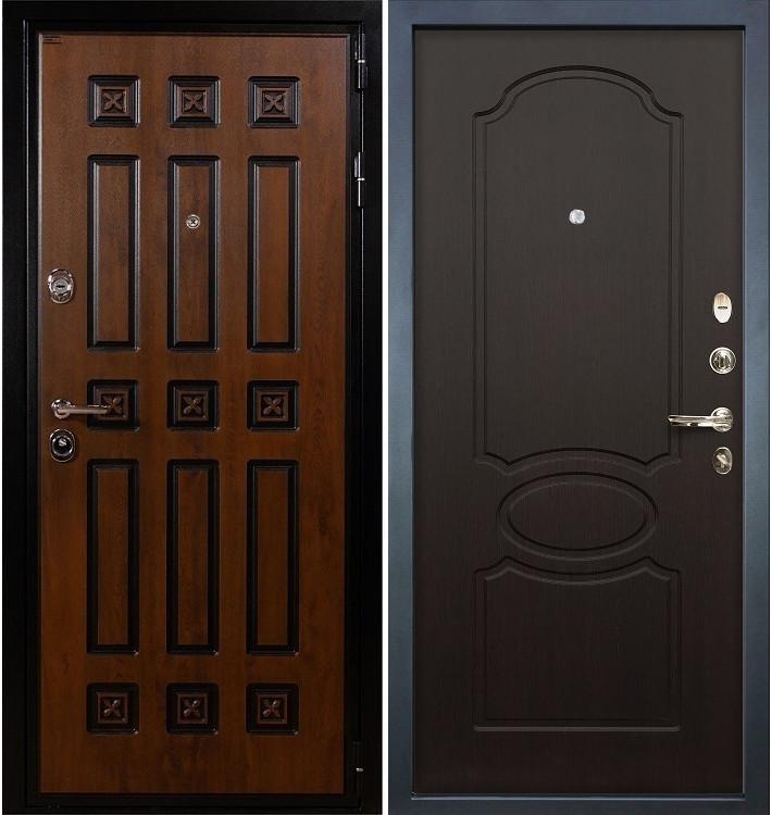 Входная дверь Гладиатор Винорит / Венге (панель №13)